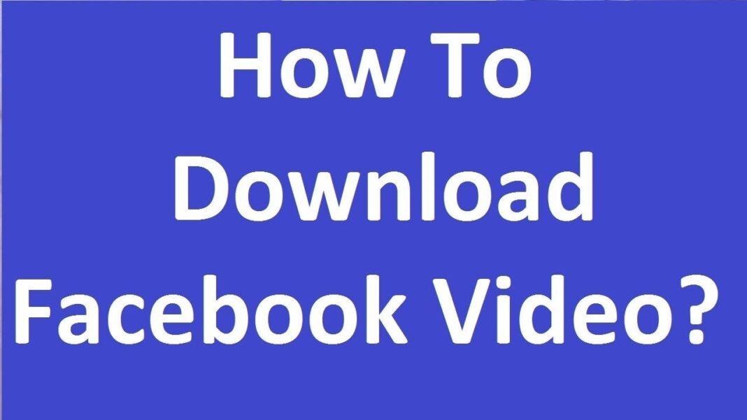 kako preuzeti video sa facebooka