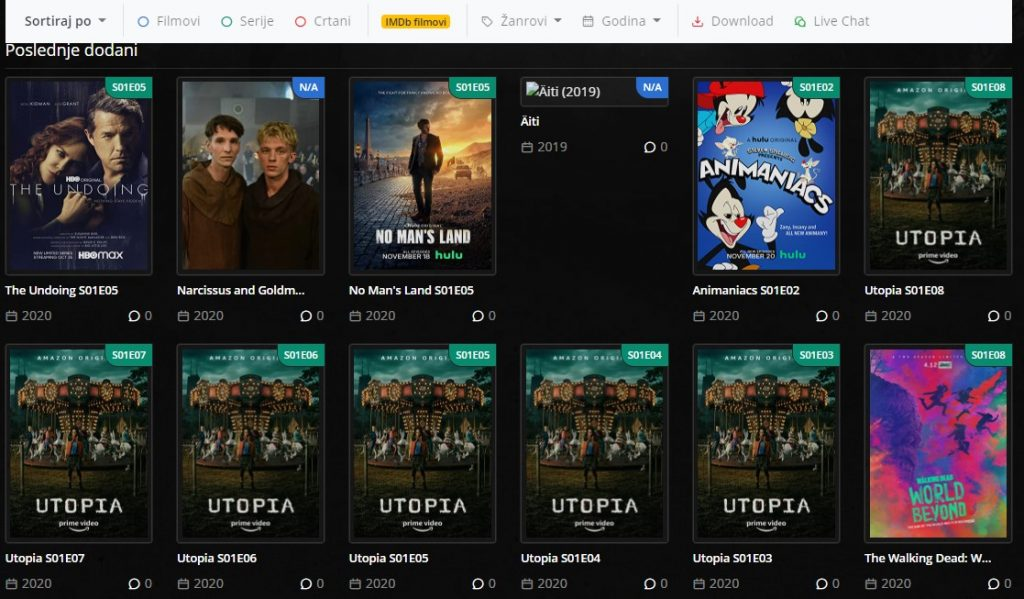 gledanje filmova online sa prevodom