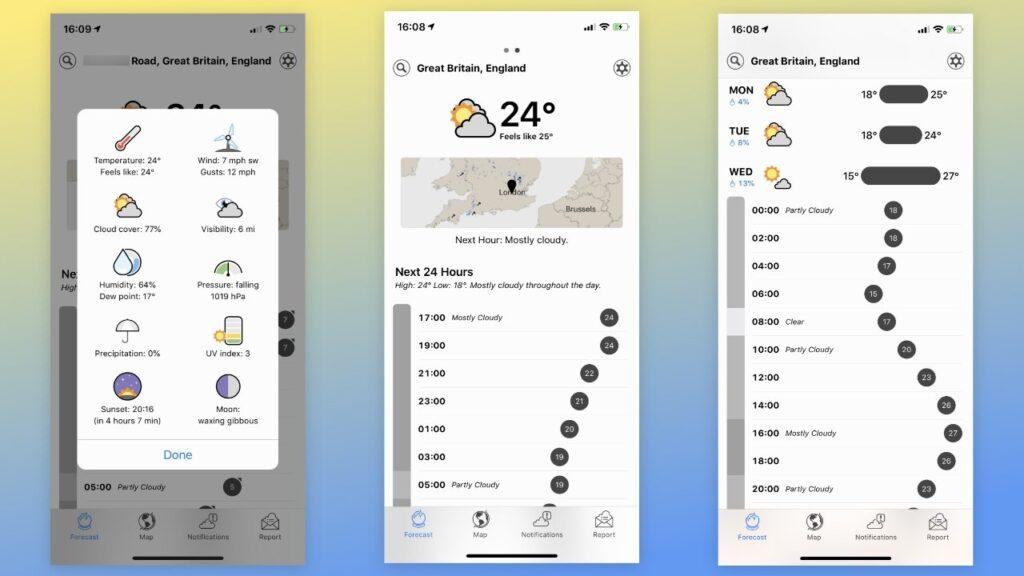 Najbolje aplikacije za vremensku prognozu