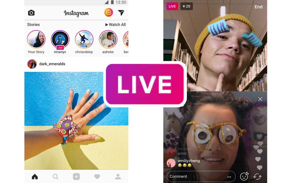 Kako snimati live na Instagramu